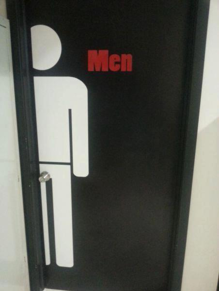 Have an open mind about turning this doorknob
